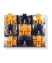 お中元・お歳暮に「味くらべ」あられ・せんべい・お菓子の通販ご購入