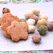 大江戸あられの期間限定商品「桜あられ」あられ・せんべい・お菓子の通販ご購入